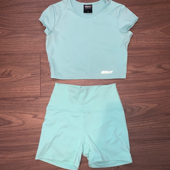 ECHT mint green set